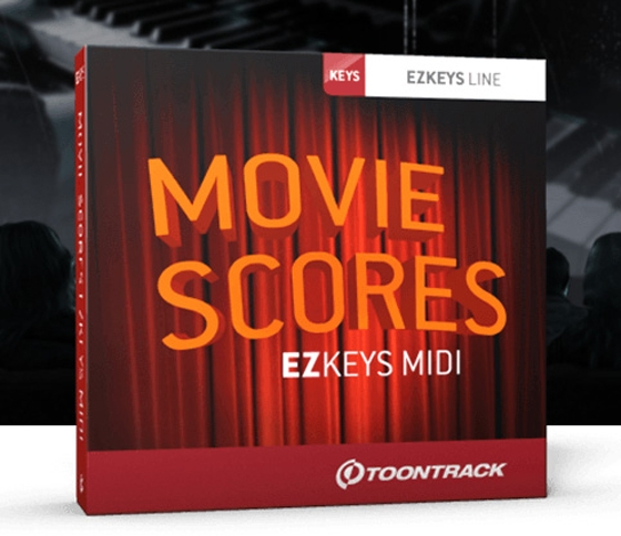 ToonTrack Movie Scores EZkeys MIDI